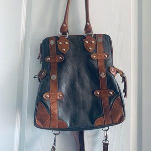 Handbags - Italian Leather Purse Crossbody, Backpack & clutch